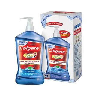 ANTISÉPTICO BUCAL CLEAN MINT TOTAL 12 SEM ÁLCOOL - COLGATE