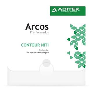 Arco NiTi Termoativado Retangular Damon Universal - ADITEK