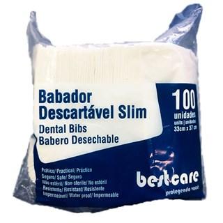 Babadouro Impermeável Descartável Slim - BESTCARE