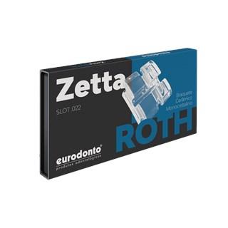Bráquete Cerâmico Zetta Roth 022 - EURODONTO