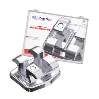 Bráquete Metálico Advanced Roth 022 - ORTHOMETRIC