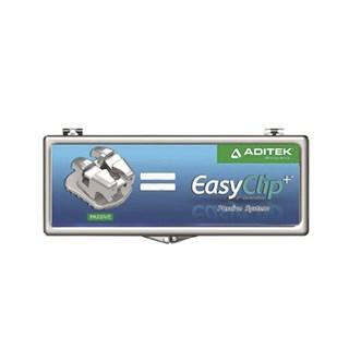 Bráquete Metálico Autoligado EasyClip Passivo Roth 022 - ADITEK