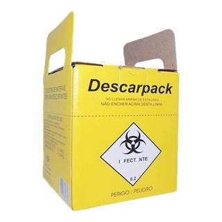 Caixa Coletora Descartex 7L - DESCARPACK