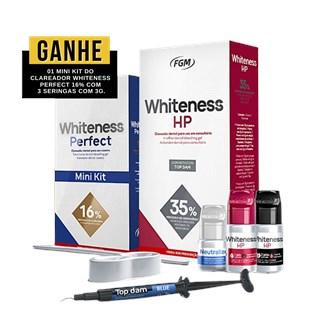 CLAREADOR WHITENESS HP 35% KIT + MINI KIT WHITENESS PERFECT 16% - FGM