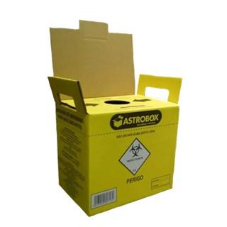 Coletor de Material Perfuro Cortante 3L - ASTROBOX