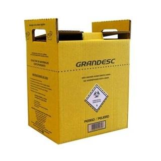 Coletor de Material Perfuro Cortante 3L - GRANDESC