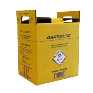 Coletor de Material Perfuro Cortante 7L - GRANDESC