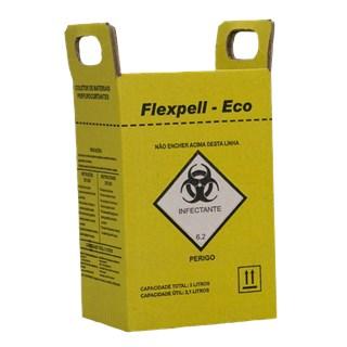 Coletor de Material Perfurocortante 3L - FLEXPELL