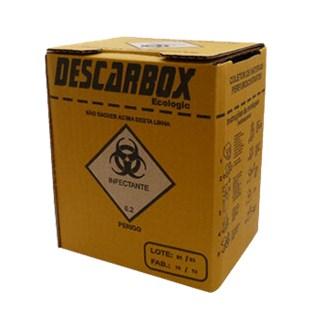 Coletor de Material Perfurocortante - DESCARBOX