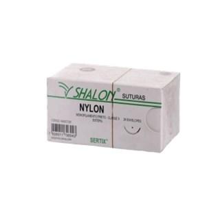 FIO DE SUTURA NYLON - SHALON