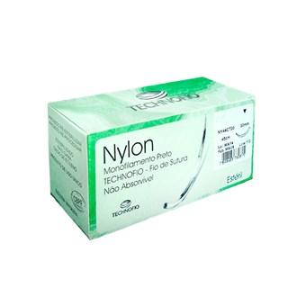 FIO DE SUTURA NYLON - TECHNOFIO