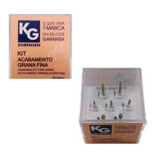 Kit Polimento de Resina Fina 6006 - KG SORENSEN