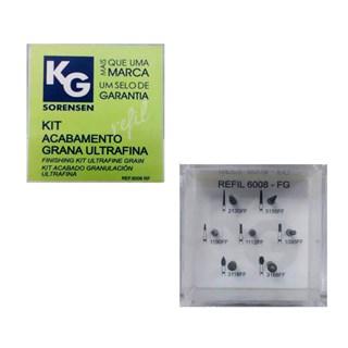 Kit Polimento de Resina Ultra Fina 6008 - KG SORENSEN