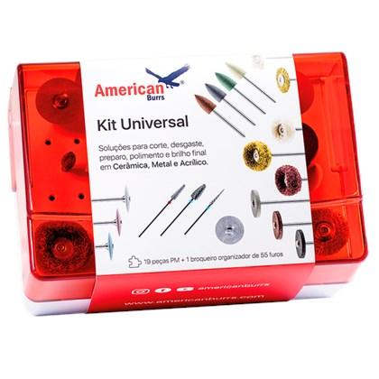 Kit Universal Acabamento e Polimento - AMERICAN BURRS