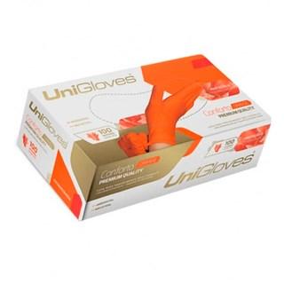 Luva de Látex Orange - UNIGLOVES