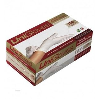 Luva de Látex para Procedimento Powder Free - UNIGLOVES