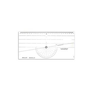 Régua Cefalometrica Protractor - TECNIDENT
