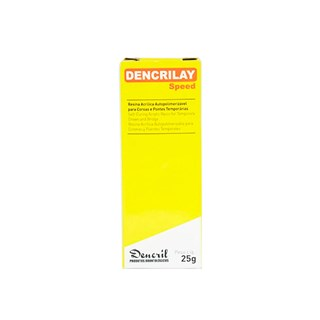 Resina Acrílica para Provisório Dencrilay - DENCRIL