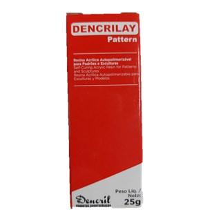 Resina Acrílica para Provisório Dencrilay Vermelho - DENCRIL