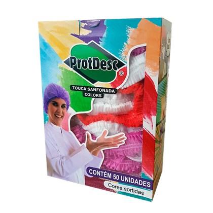 Touca Cirúrgica Sanfonada Colors - PROTDESC